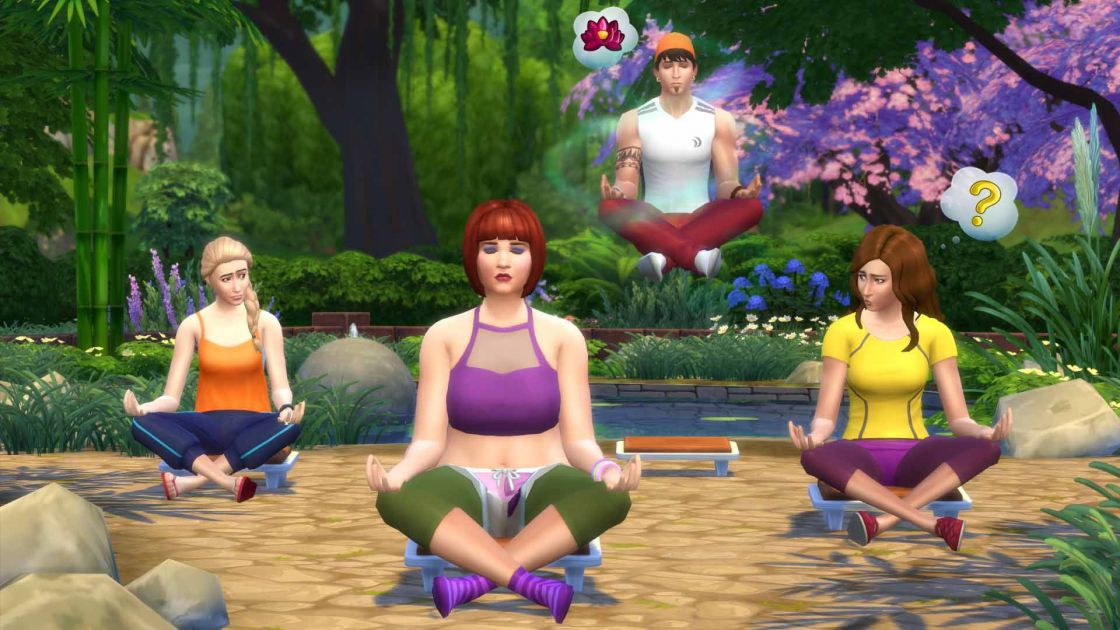 De Sims 4 Spa dag gameplay screenshot 6