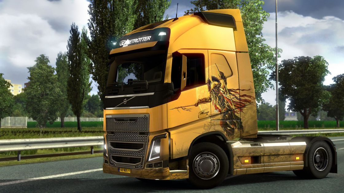 euro truck simulator 2 gold edition voor pc kopen. Black Bedroom Furniture Sets. Home Design Ideas