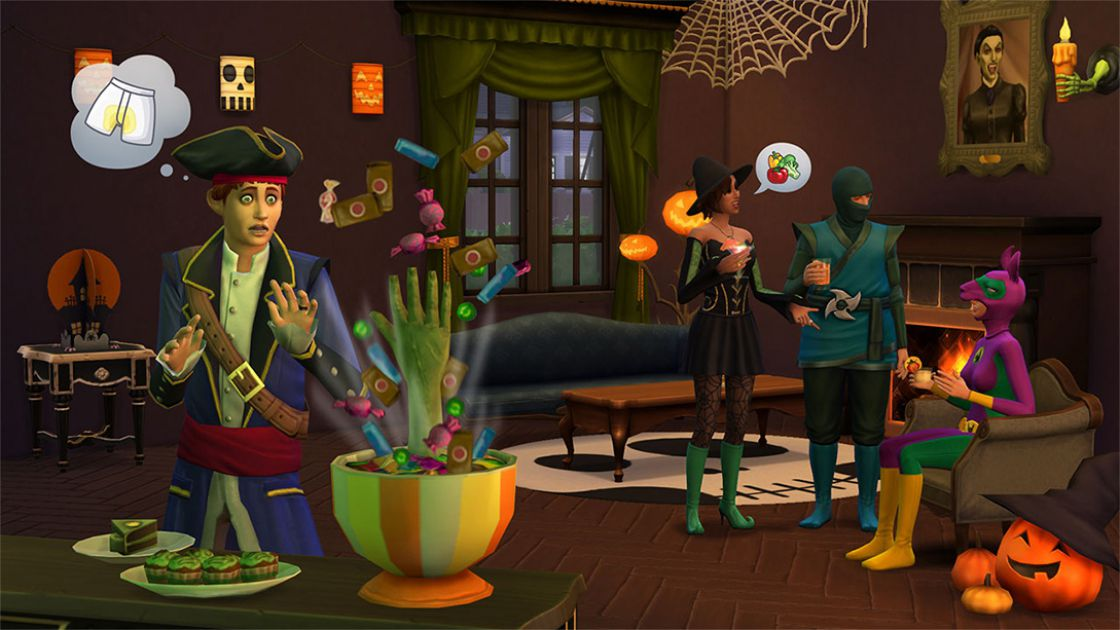 Sims 4 - Griezelige accessoires gameplay 1