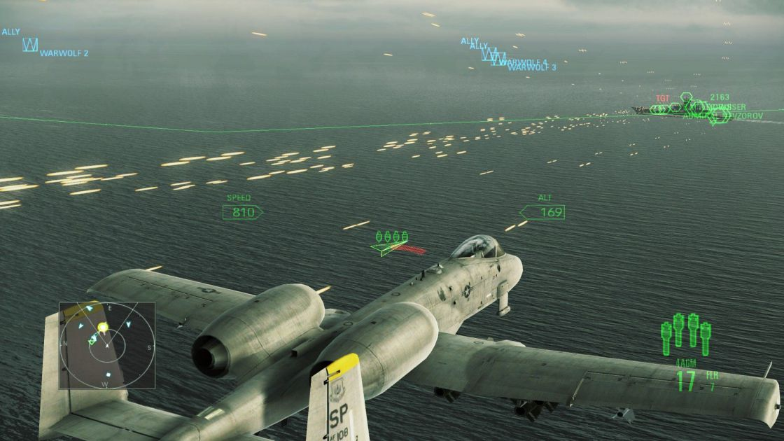 Ace Combat: Assault Horizon (Enhanced Edition) screenshot 12