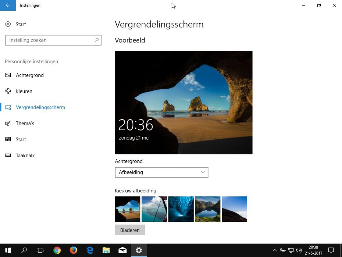 Windows 10 Home screenshot 2