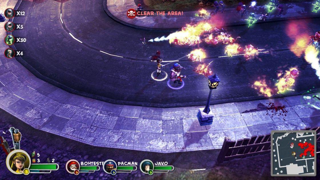 Bunch of Heroes screenshot 3