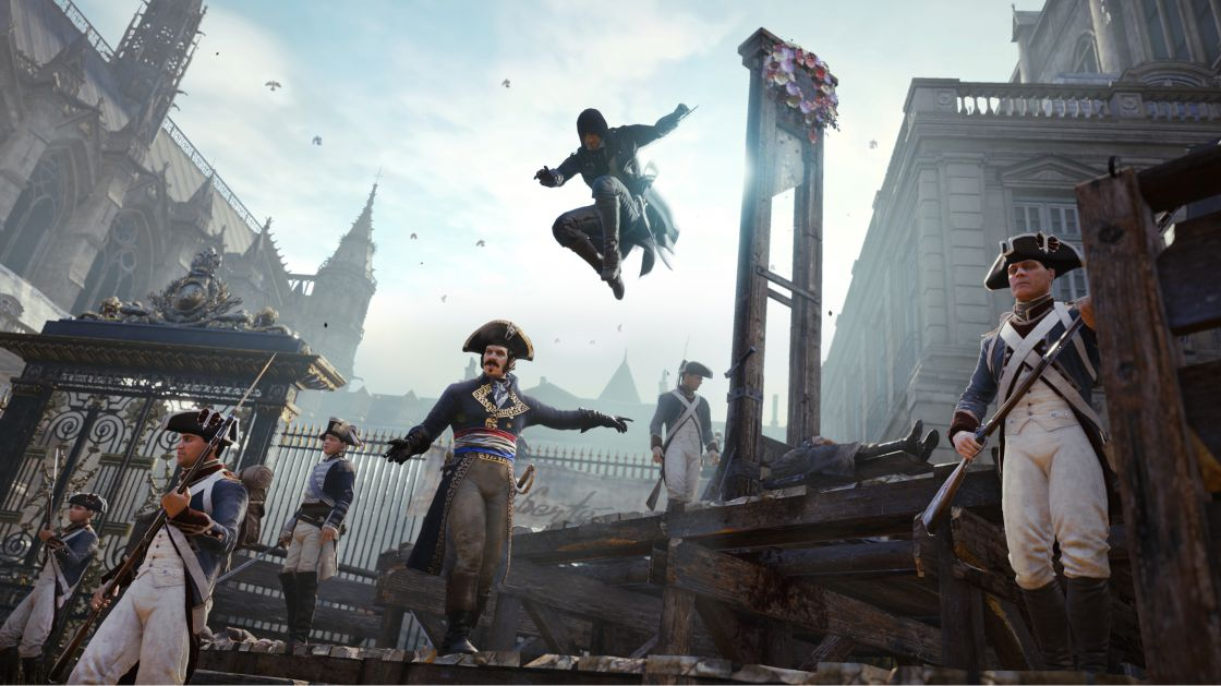 Assassins Creed Unity Chemical Revolution DLC screenshot 1