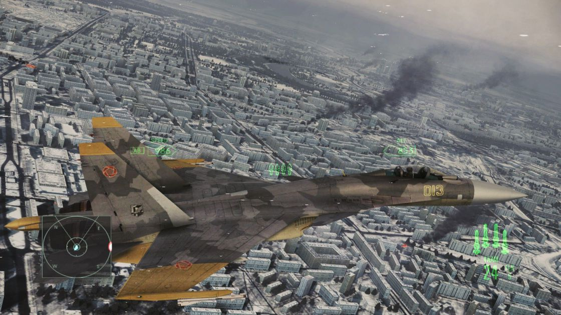 Ace Combat: Assault Horizon (Enhanced Edition) screenshot 2