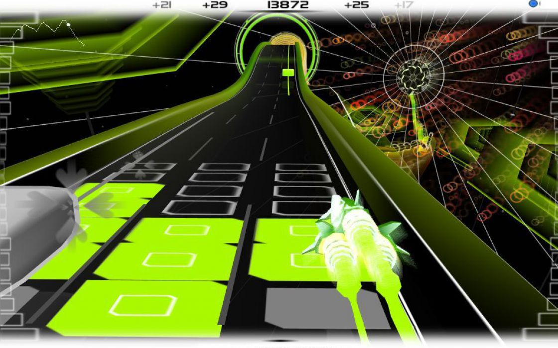AudioSurf screenshot 19