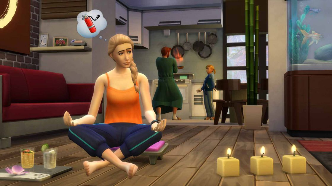 De Sims 4 Spa dag gameplay screenshot 4