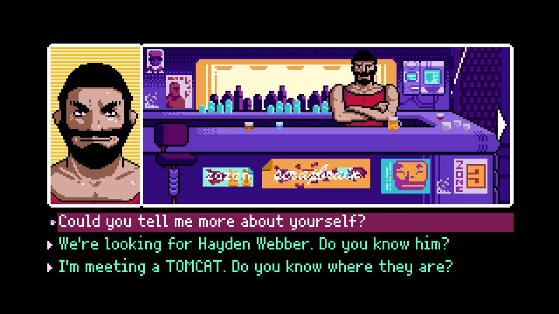 2064: Read Only Memories screenshot 3