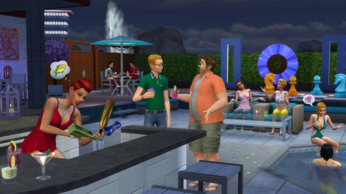 De Sims 4 Perfect Patio Accessoires gameplay - screenshot 2