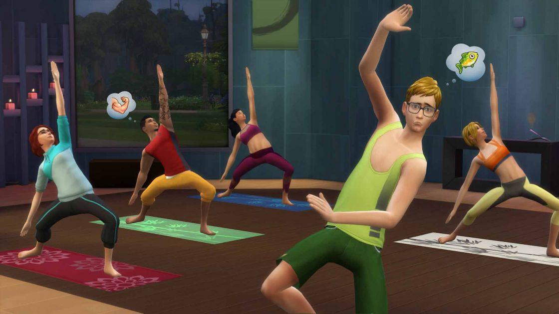 De Sims 4 Spa dag gameplay screenshot 2