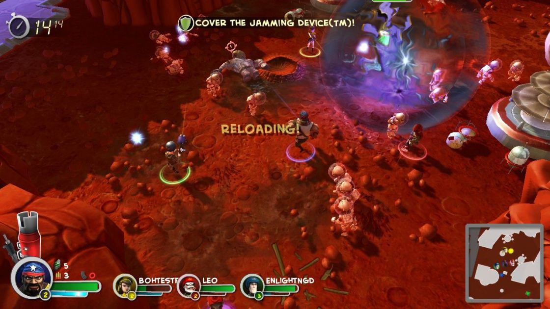 Bunch of Heroes screenshot 7