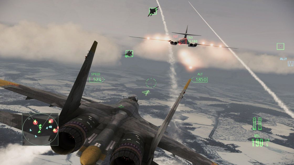 Ace Combat: Assault Horizon (Enhanced Edition) screenshot 1
