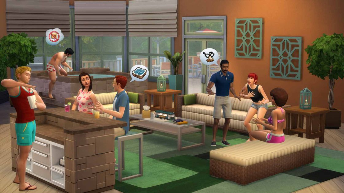 De Sims 4 Perfect Patio Accessoires gameplay - screenshot 4