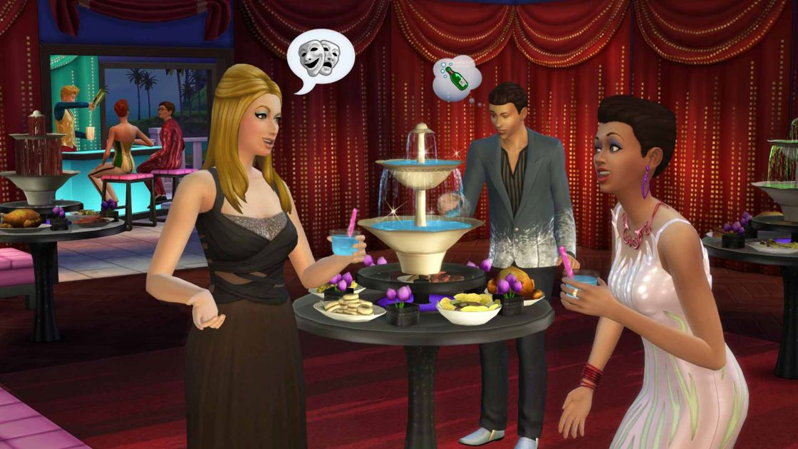 De Sims 4 luxury party accessoires gameplay screenshot 3