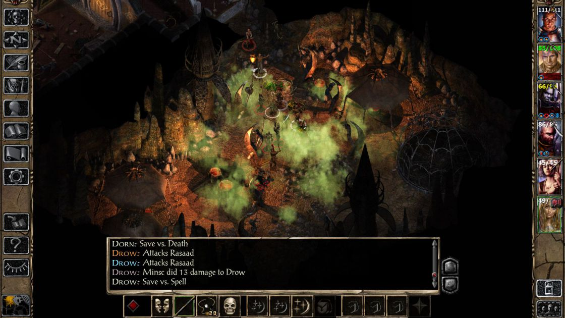 Baldurs Gate II (Enhanced Edition) screenshot 1