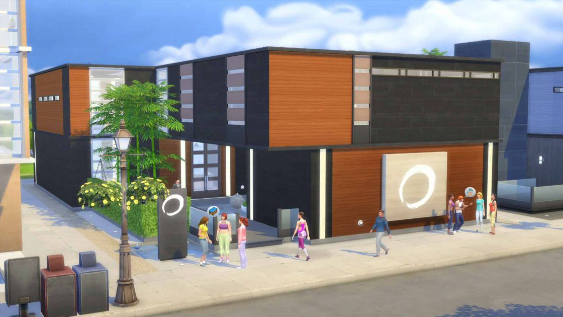 De Sims 4 Spa dag gameplay screenshot 5