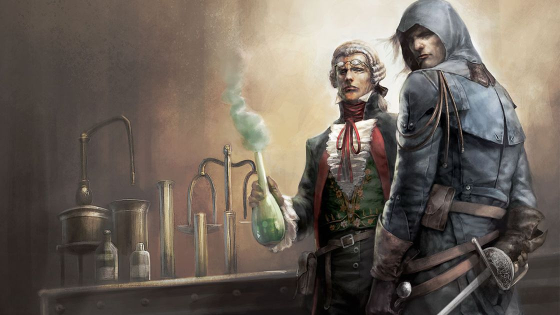 Assassins Creed Unity Chemical Revolution DLC screenshot 2