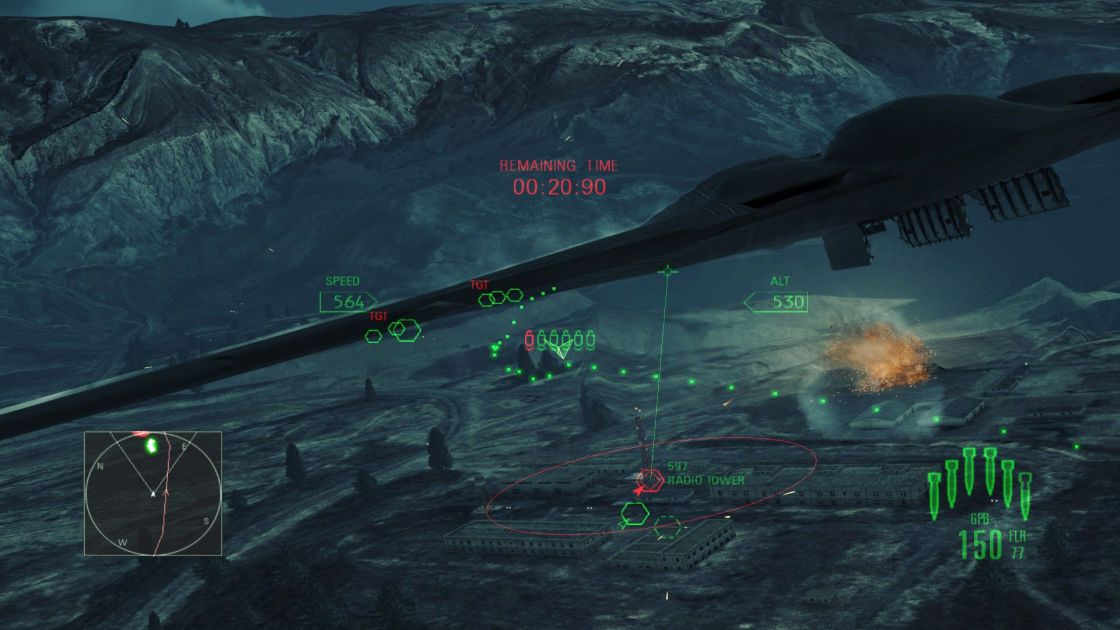 Ace Combat: Assault Horizon (Enhanced Edition) screenshot 6