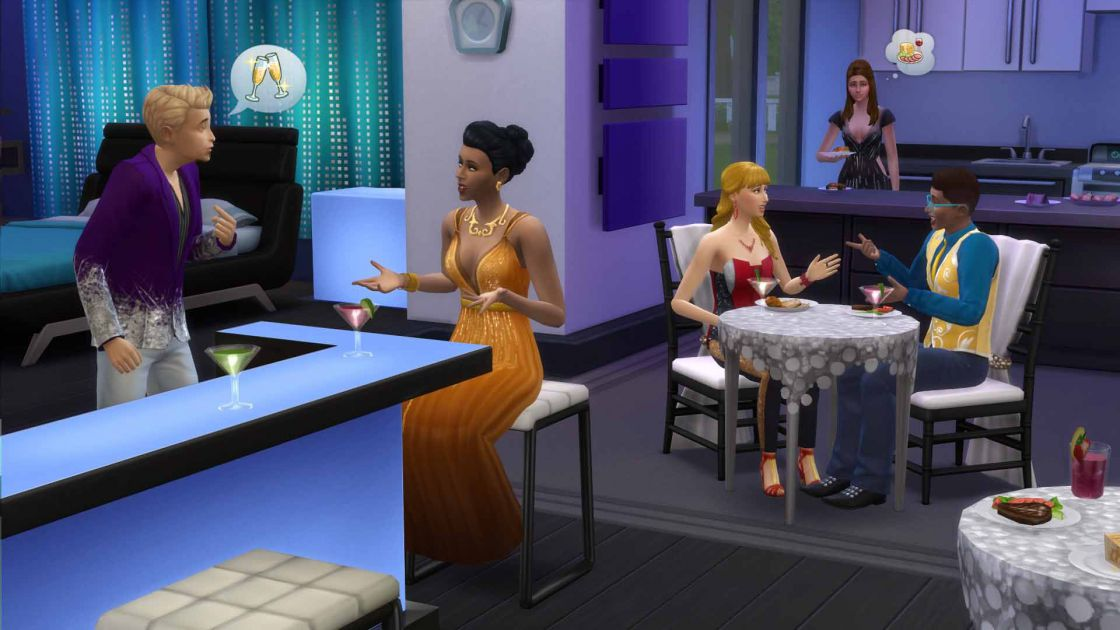De Sims 4 luxury party accessoires gameplay screenshot 4