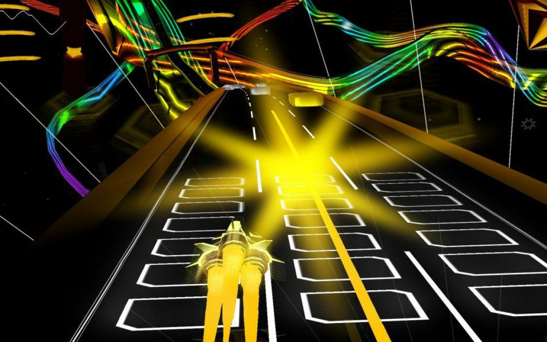 AudioSurf screenshot 2
