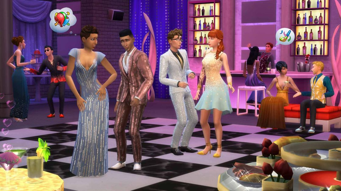 De Sims 4 luxury party accessoires gameplay screenshot 1