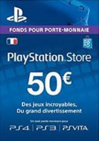 Playstation Network Card (PSN) 50 EUR (France)