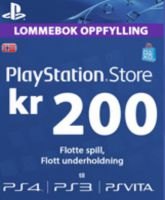 Playstation Network Card (PSN) 200 NOK (Norway)