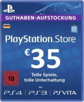 Playstation Network Card (PSN) 35 EUR (German)