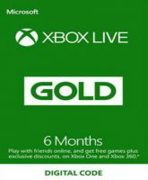 Xbox Live Gold 6 month