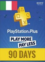 PlayStation Network Card (PSN) 90 Days (Italian)