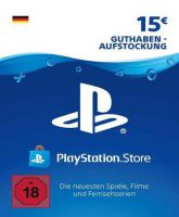 Playstation Network Card (PSN) 15 EUR (German)