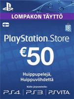 Playstation Network Card (PSN) 50 EUR (Finland)