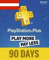 Playstation Network Card (PSN) 90 days (Austrian)