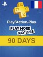 PlayStation Network Card (PSN) 90 Days (France)