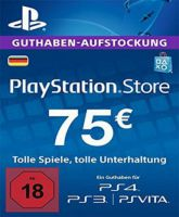 Playstation Network Card (PSN) 75 EUR (German)