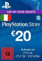 Playstation Network Card (PSN) 20 EUR (Italian)