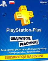 PlayStation Network Card 365 Days (Poland)