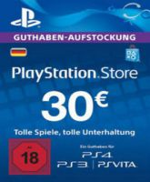 Playstation Network Card (PSN) 30 EUR (German)