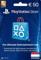 Playstation Network Card (PSN) 50 EUR (Netherlands)