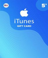 iTunes Gift Card 5 USD (USA)
