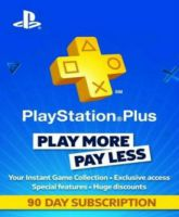 Playstation Network Card (PSN) 90 days (Portugal)