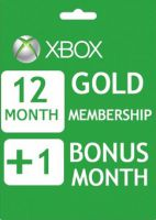 Xbox Live Gold 12+1 month