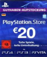 Playstation Network Card (PSN) 25 EUR (German)