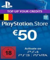 Playstation Network Card (PSN) 50 EUR (Belgium)