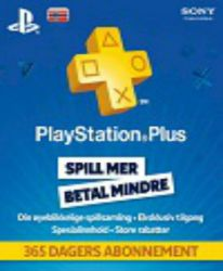 Playstation Network Card (PSN) 365 days (Norway)