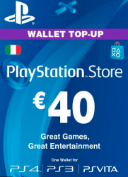 Playstation Network Card (PSN) ?€40 (Italy)