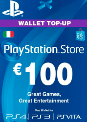 Playstation Network Card (PSN) ?€100 (Italy)