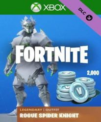 Fortnite - Legendary Rogue Spider Knight Outfit + 2000 V-Bucks EU (Xbox One)