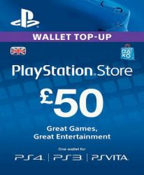 PlayStation Network Card (PSN) £50 (UK)