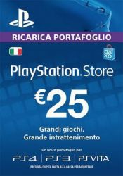 Playstation Network Card (PSN) ?€25 (Italy)