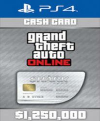 Grand Theft Auto V GTA: Great White Shark Cash Card (PS4)